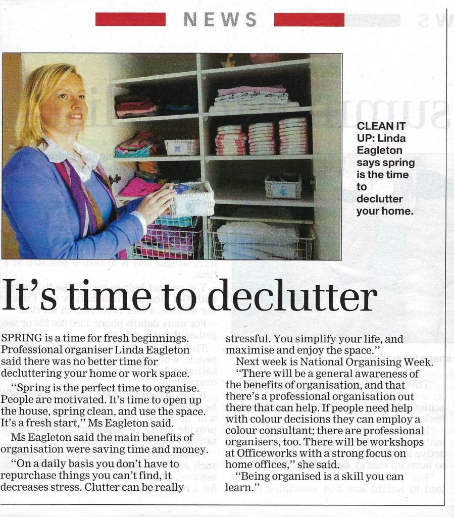 North-Shore-Times-Its-time-to-declutter-2009 updated